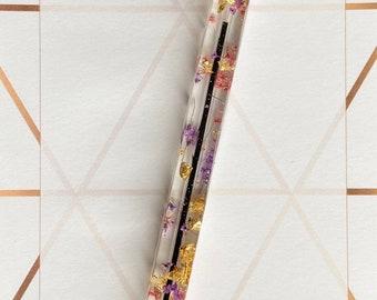 Square resin pen
