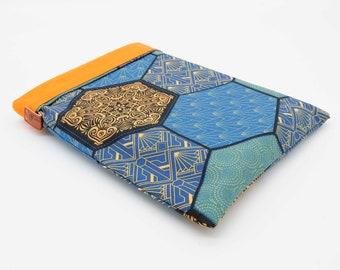 Large-format tapestry book pocket
