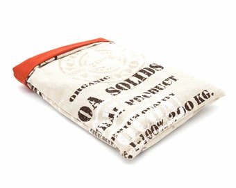 Cocoa-printed pocket book pouch