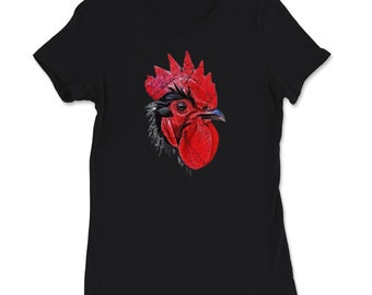 have you seen this chicken cool Rooster T-Shirt