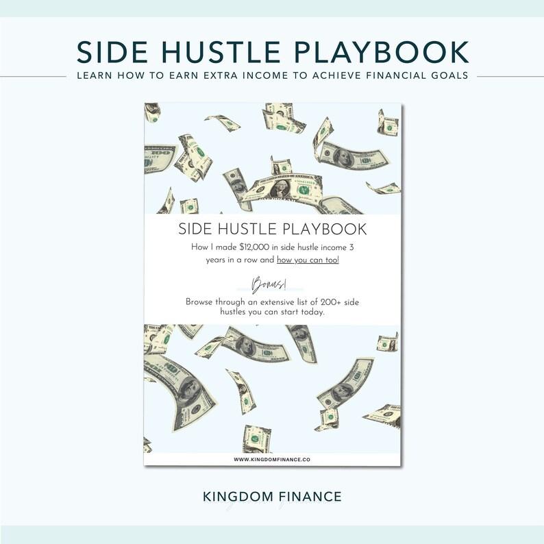Side Hustle Guide Side Hustle Playbook Learn How to Earn image 0