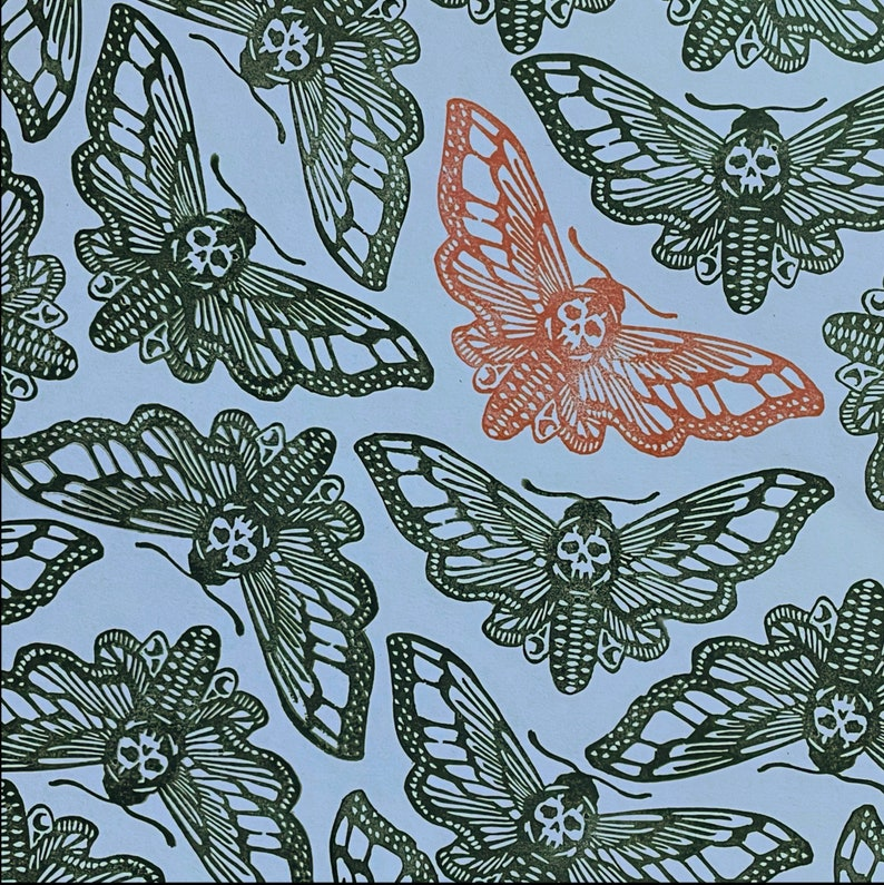 Death Moth Stamp