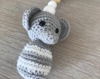 crochet stroller trailer elephant