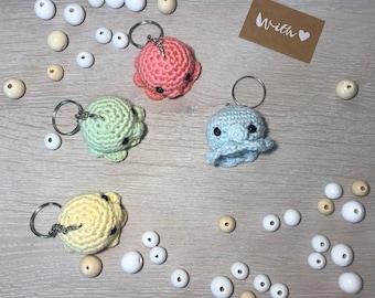 Amigurumi Keychain - Octopus/ Octopus Crocheted