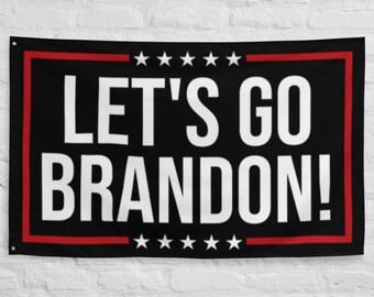 Lets Go Brandon Flag - F Joe Biden Flag - Anti Biden Chant