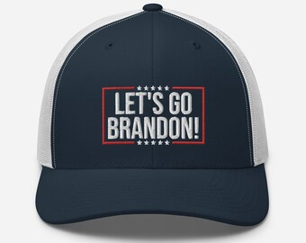 Lets Go Brandon Hat - F Joe Biden Chant Cap - Anti Biden Snapback Hat