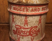 Pepsi Syrup Container- 10 gallon 1940 s