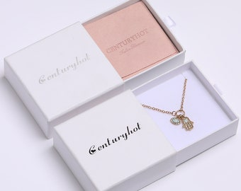 AU SELLER 12 PCS Jewellery Gift Boxes Display Necklace Bracelet Earring Box Set