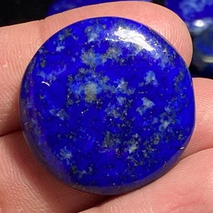 Classic Top Grade Quality 100/% Natural Lapis Lazuli Oval Shape Cabochon Loose Gemstone For Making Jewelry 43 Ct 34X26X6 mm SZ-2605