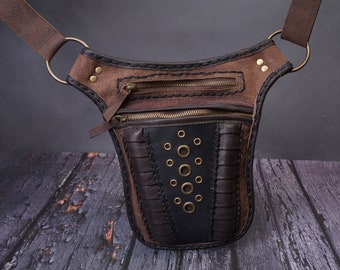 leather utility belts etsy leather gypsy utility belt  .leather utility belt leather belt etsy .Festival pocket belt