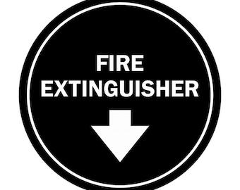 Fire Safety Signage Fire Extinguisher Sign Jure Design
