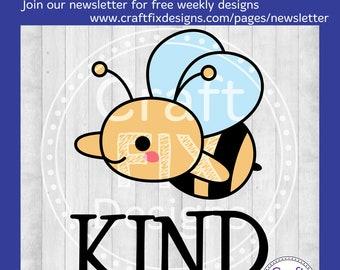 Bee Kind SVG, Be Kind SVG, Pink Shirt Day svg, Be Kind Sublimation PNG, Pink Shirt Day png sublimation, Anti Bullying shirt, Anti Bully svg