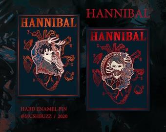 Hannibal Enamel Pin