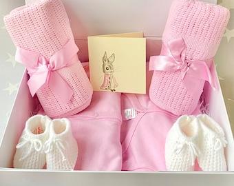 TWIN BABY GIRL Gift, Twin Baby Hamper, Newborn Twins Gift Set, Twin Mummy Gift, Mummy-to-be Gift, Twin Baby Gift Set, Twin Baby Girls