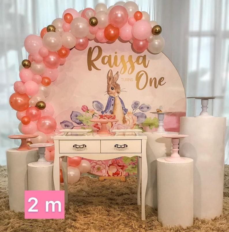 Boho rainbow Birthday round fabric backdrop Banners,Photography custom Newborn 1 year background stand party decor PRINTED