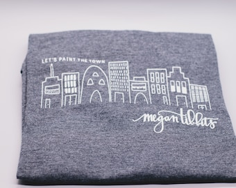Paint The Town T-shirt