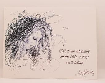 Write an Adventure - 8.5x11 Print