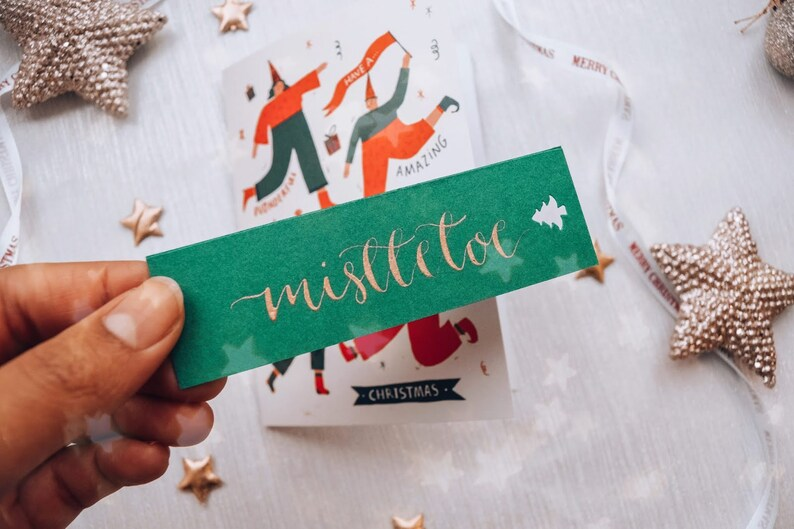 Personalised Christmas Place Cards Christmas Table image 0