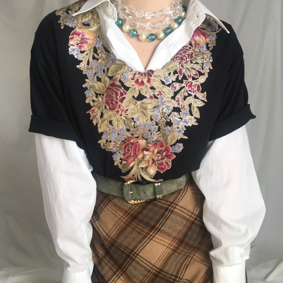 Vintage Kitschy Graphic Top
