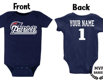 Rookie of The Year Navy Onesie or Toddler Tee NB-7T New England Football Fans