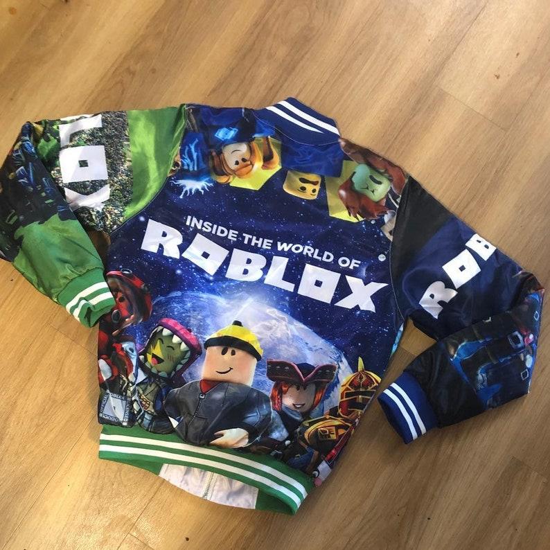Custom Roblox bomber jacket Coat