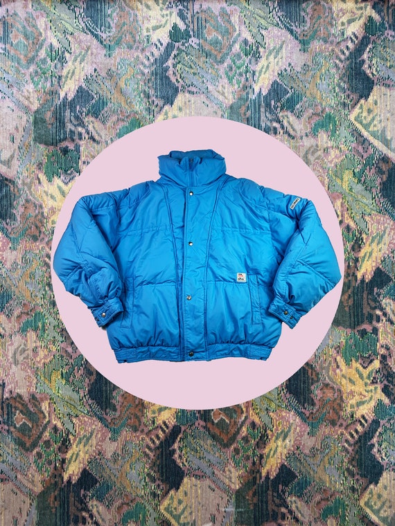 Elho Puffer Jacket Vintage Winter 80s