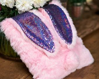 Pillow. Interior. Rabbit. For home. Design.
