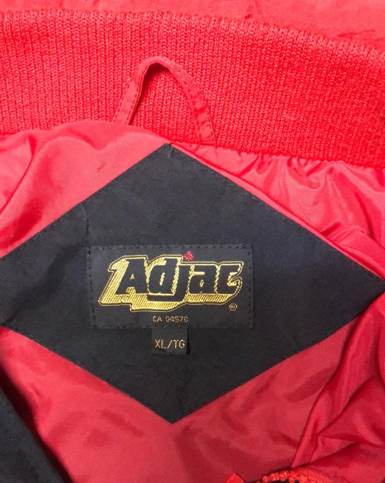 Vintage Kodak Embroidered Mens XL Nylon Jacket Black Windbreaker