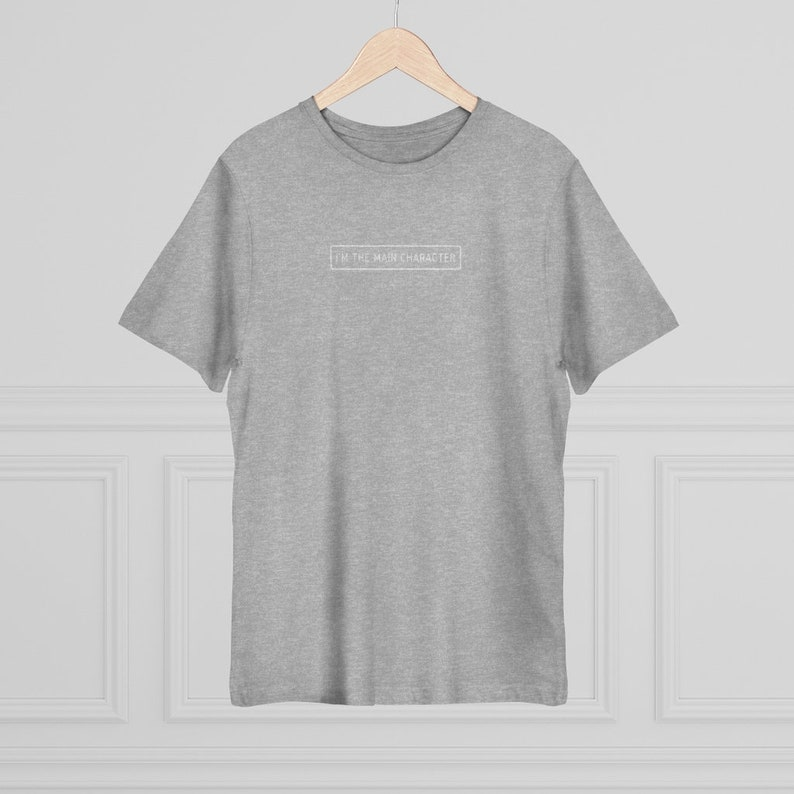 I/'m The Main Character Unisex Deluxe T-shirt