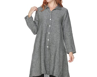 med Linen princess coat size 8 swing coat mid length winter sm Christmas natural fiber bridal boho womens vintage 70s lace jacket