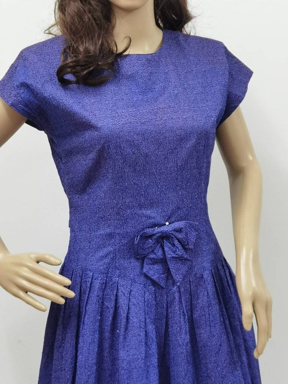 Liberty House Vintage Dress Purple