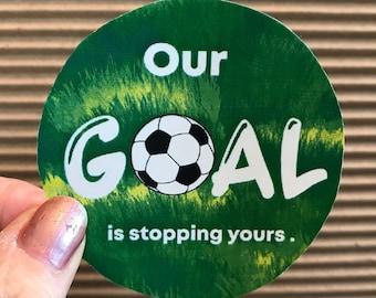 Vinyl Wall Decal Sticker Soccer Kick OSMB1212s
