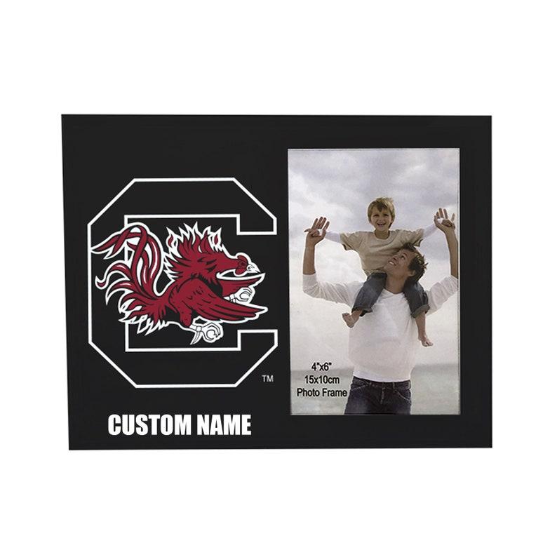 University of South Carolina Customizable Photo Frame-South Carolina Gamecocks Personalized College Picture Frame for 4x6 Photo