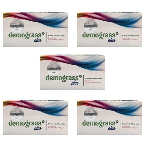 5 pack- Demograss Plus Original Mexican Version 150 Caps- Weight Loss Natural Supplement EXP 2024