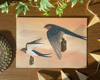 The Journey - A5 Giclée Fine Art Print