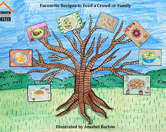 Favourite Recipes to Feed a Crowd or Friends written and illustrated by Amabel Barlow