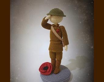 For The Fallen crochet pattern - haakpatroon