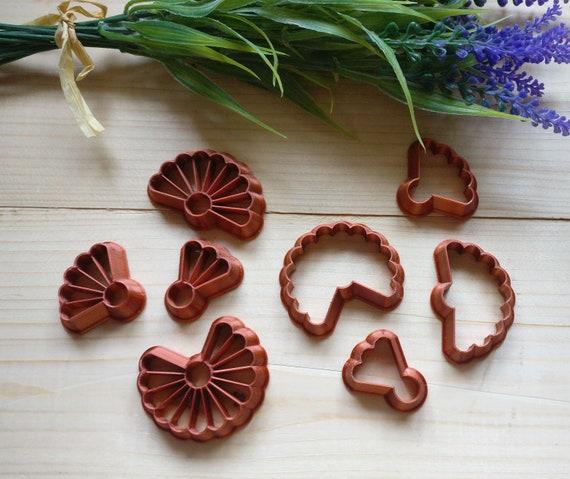 Fan Petal Polymer Cutters