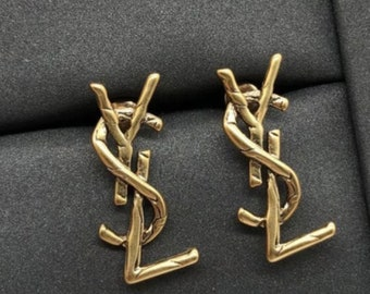 YSL Earrings Brand InspiredGreat Quality Drop Long Earrings will not tarnish or Fade
