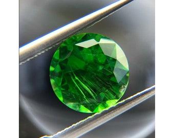 Natural Demantoid Garnet January Gemstone January Birthstone Green Garnet Demantoid Garnet Pair 5mm RD Loose Stone SKU:00105298