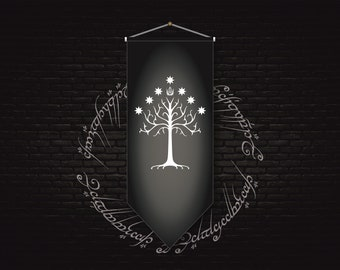 Gondor The Lord of The Rings Banner Flag Swallow