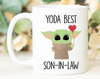 Best Son in Law Ever Mug Yoda Best Son in Law Mug Funny Son In Law Mug