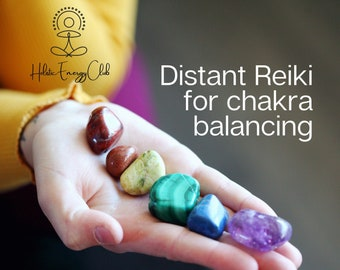 Distant reiki 15 minutes for chakras and 1 oracle card reading