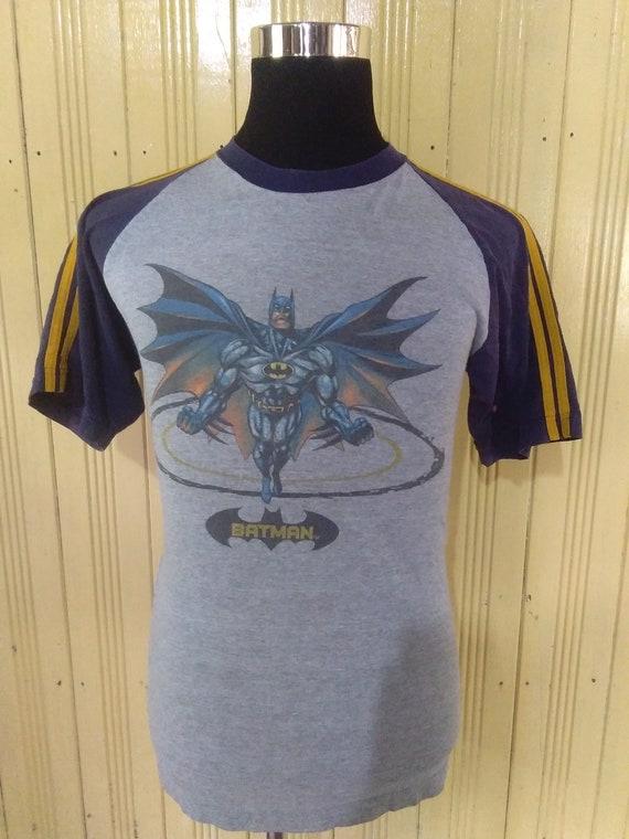 vintage badman raglan tshirt