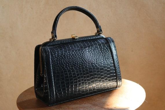 """Skin handbag Women's gift vintage """"France"""" 30's"""