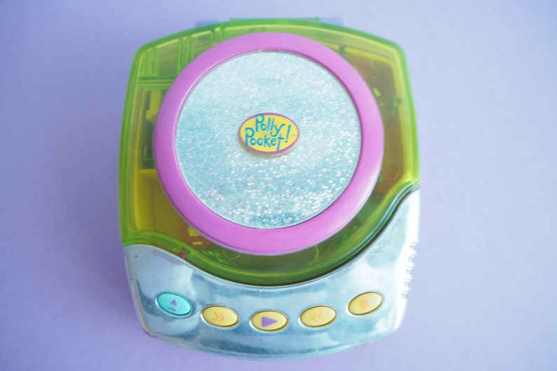 Polly Pocket CD Players Variation 1998