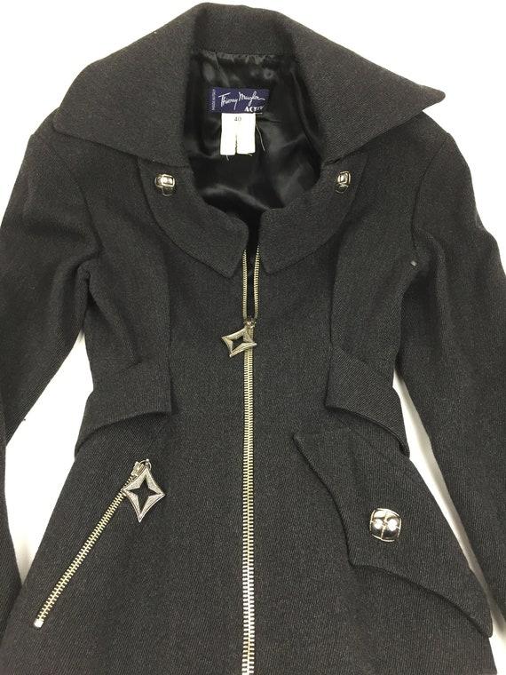 Thierry Mugler wool jacket