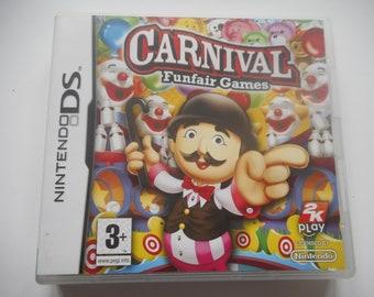 Carnival Funfair Games Nintendo DS