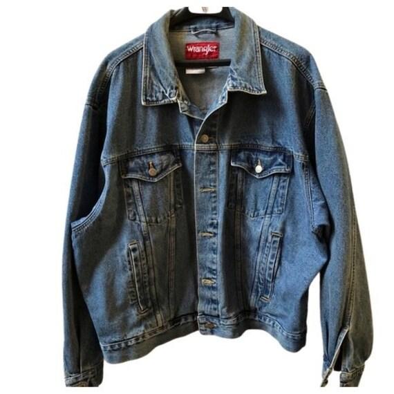 Vintage Wrangler Jean Jacket, Hero Jean Jacket, Me
