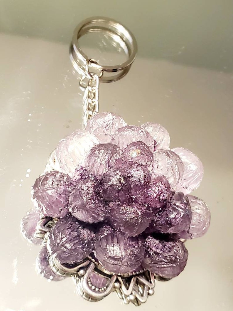 Succulent keychain Gift for her customizable Mothers Day succulent trees,